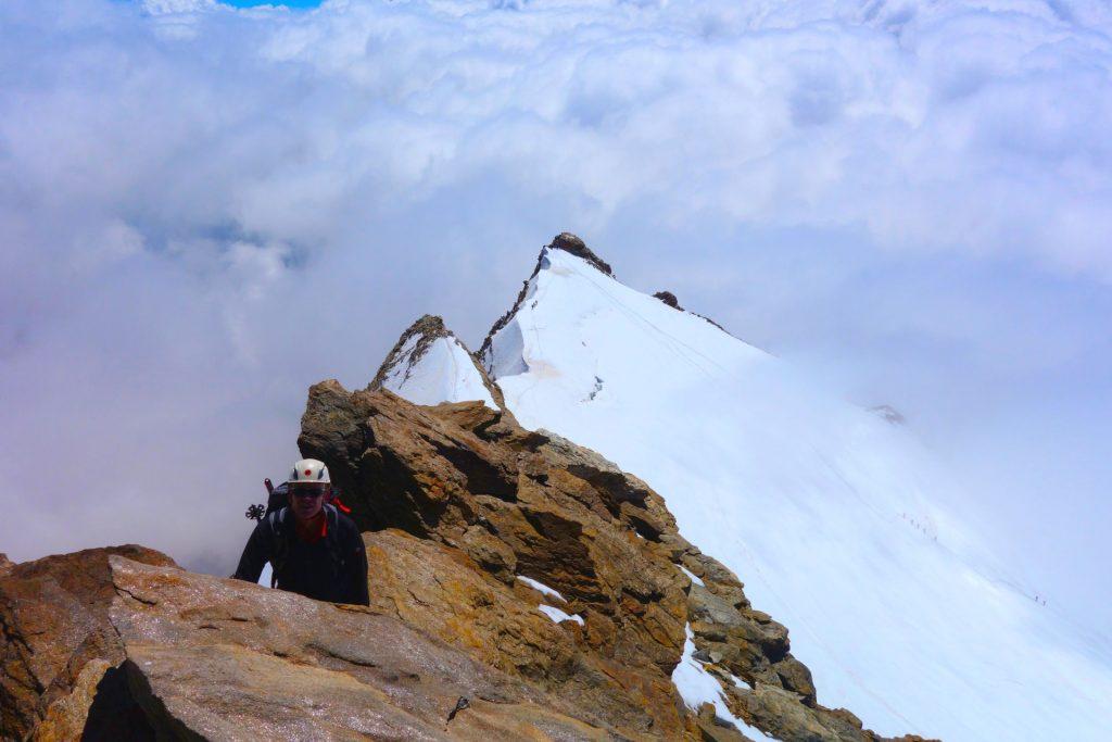 punta giordani cresta del soldato monte rosa