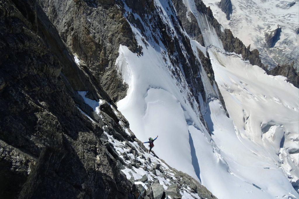 grandes jorasses west ridge