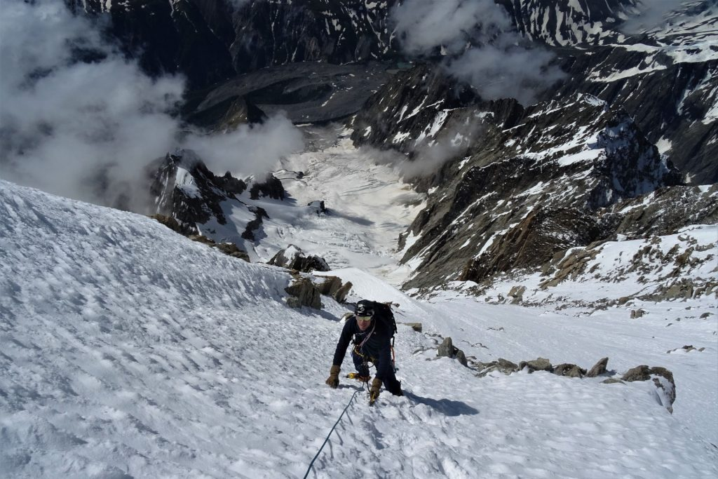 mont blanc innominata ridge
