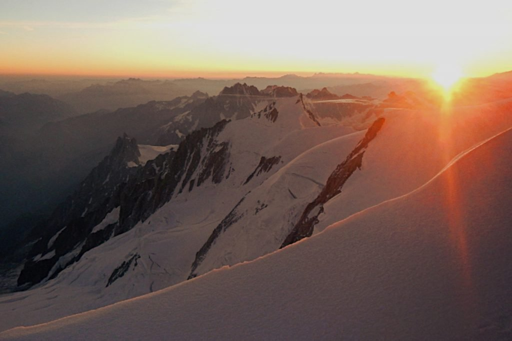 mont blanc italian route