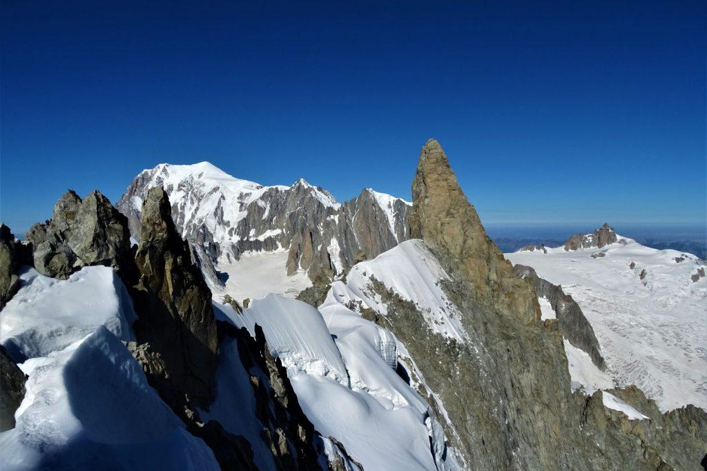 cresta di rochefort monte bianco